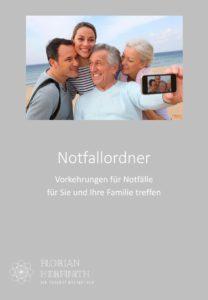 Notfallordner - Absicherung für Sie und Ihre Familie